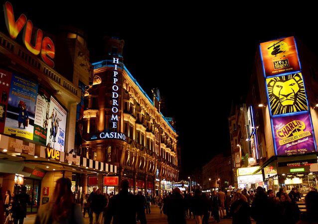 Leicester Square, London - England (Leicester Square, Londres - Inglaterra)