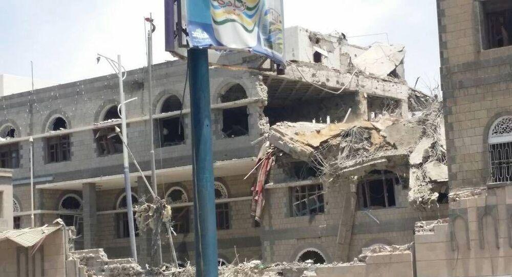 Presidential Palace in Sanaa, Yemen