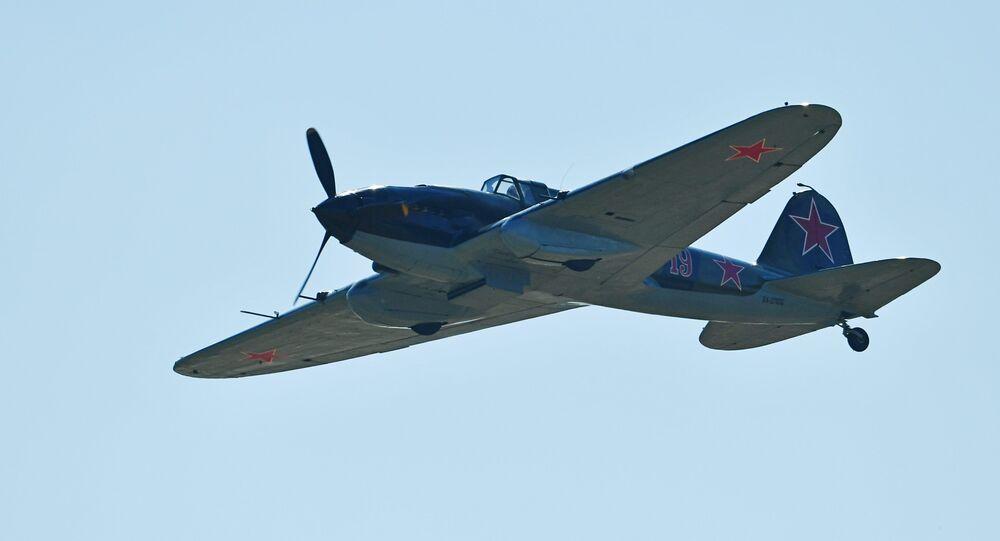 Il-2, a Soviet-made WWII assault aircraft (File)