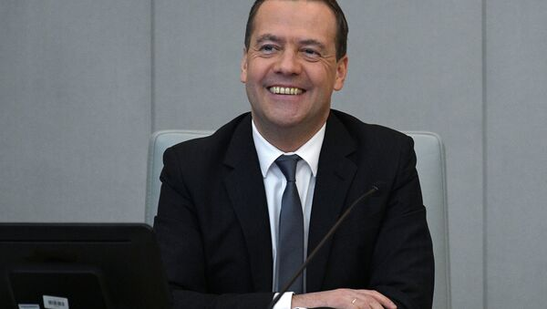 Prime Minister Dmitry Medvedev (File) - Sputnik International