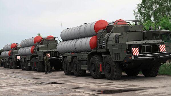 The S-400 missile defence system. - Sputnik International