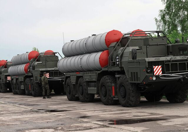 The S-400 missile defence system.