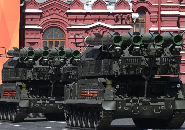 Военный парад, посвящённый 73-й годовщине Победы в ВОВ