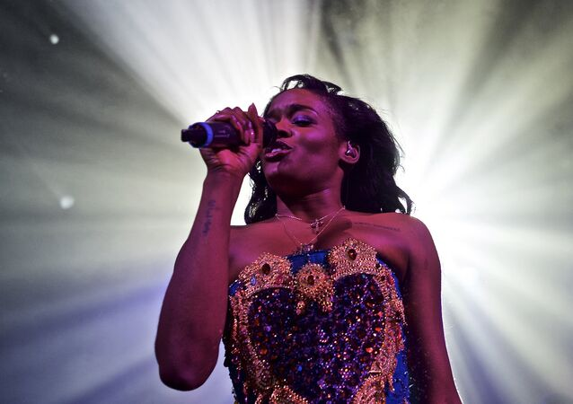 Azealia Banks performs in concert at Irving Plaza on Monday, May 11, 2015, in New York