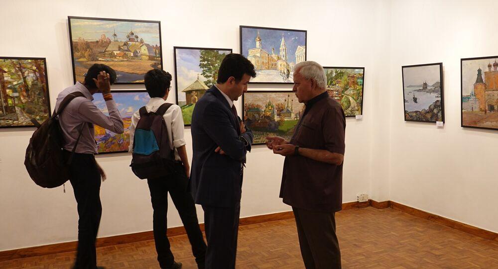 India Hosts 'Temples of Spirit: Russia & India' - Collaborative Art Exhibition