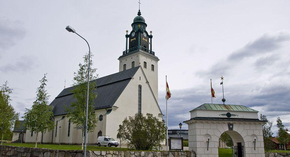 Sankt Olovs församling in Skellefteå, Sweden