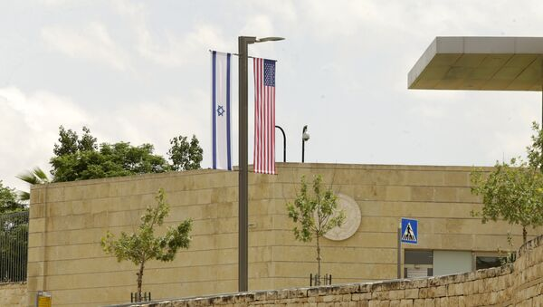 The building of consulate of the USA in Jerusalem. Further in this building the American Embassy will be located - Sputnik International