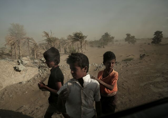 Homeless Children, Yemen