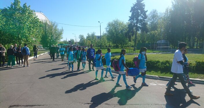 Moscow Hosts World Football Tournament for Orphaned Kids