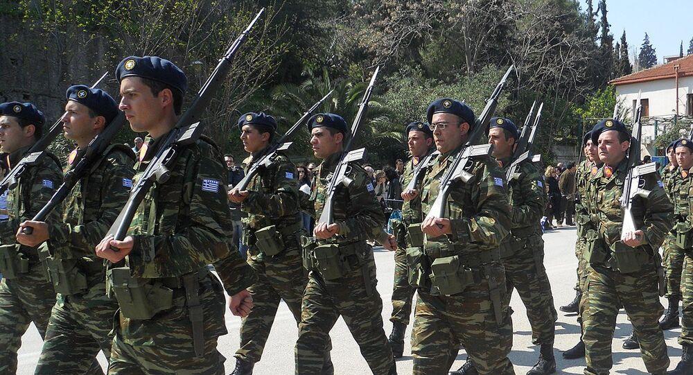Greek Soldiers
