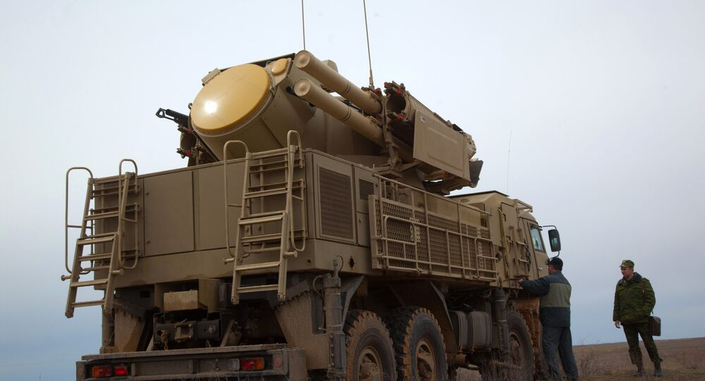 The Pantsir-S surface-to-air missile system. File photo