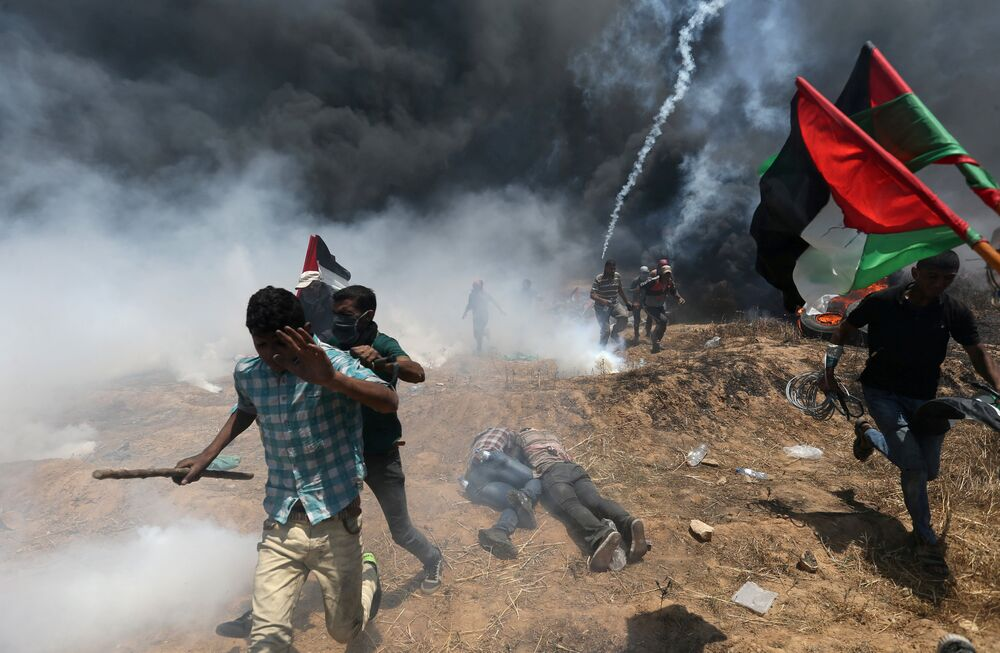 Two Sides of Israeli-Palestinian Conflict: Embassy's Opening Amid Violent Protests