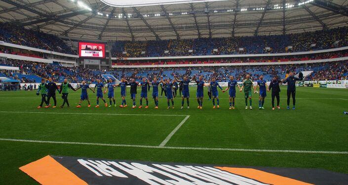 FC Rostov at the Arena field