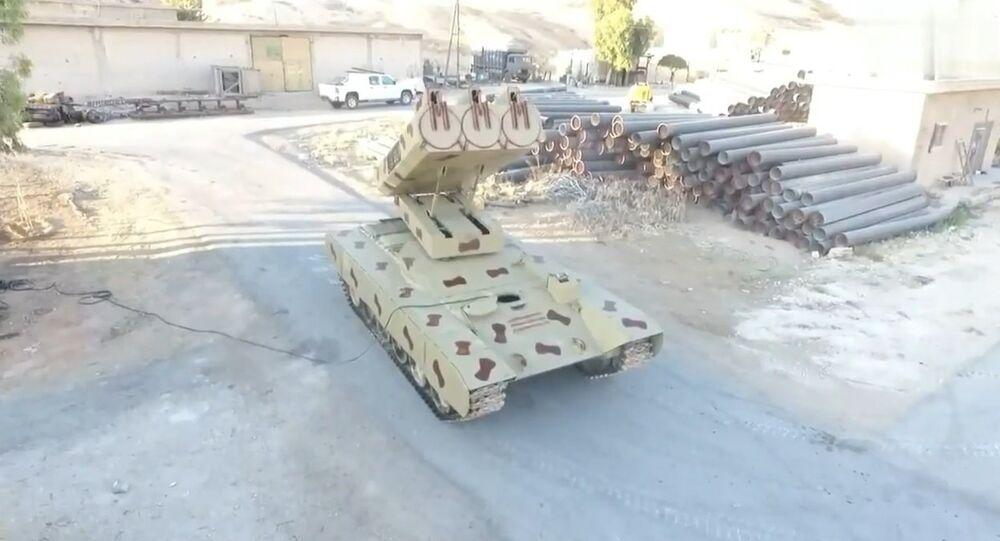 Golan-1000 missile system