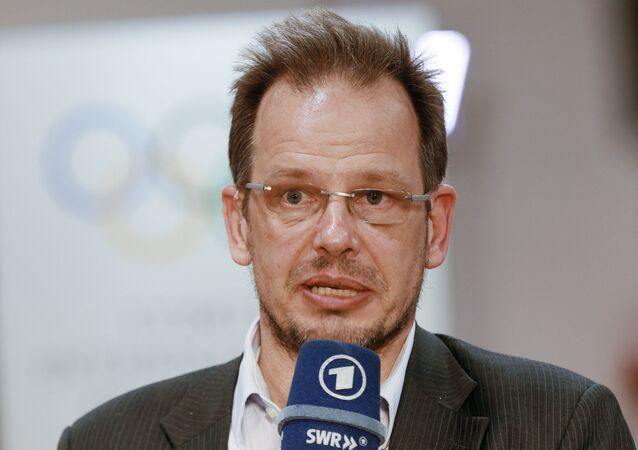 Hajo Seppelt, ARD TV channel correspondent. File photo