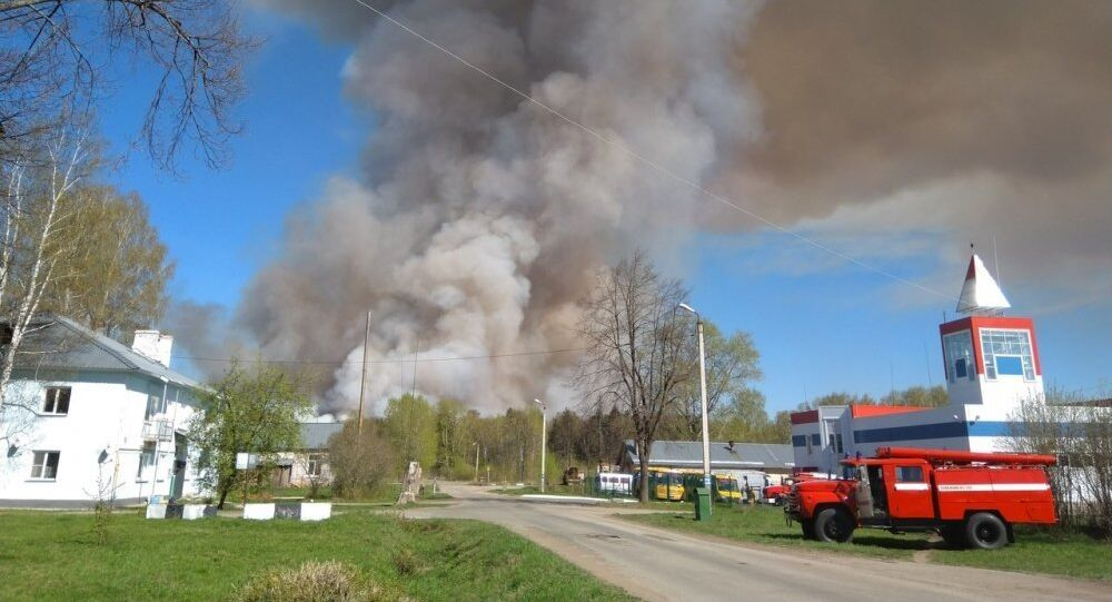 Explosions of ammunition in Udmurtia