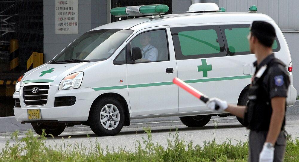 South Korean ambulance  (File)