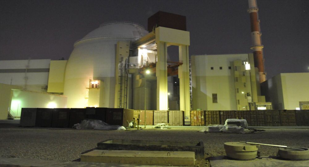 In this file photo released on Nov. 30, 2009 by the semi-official Iranian Students News Agency (ISNA), the reactor building of Iran's Bushehr Nuclear Power Plant is seen, just outside the port city of Bushehr 750 miles (1245 kilometers) south of the capital Tehran, Iran.