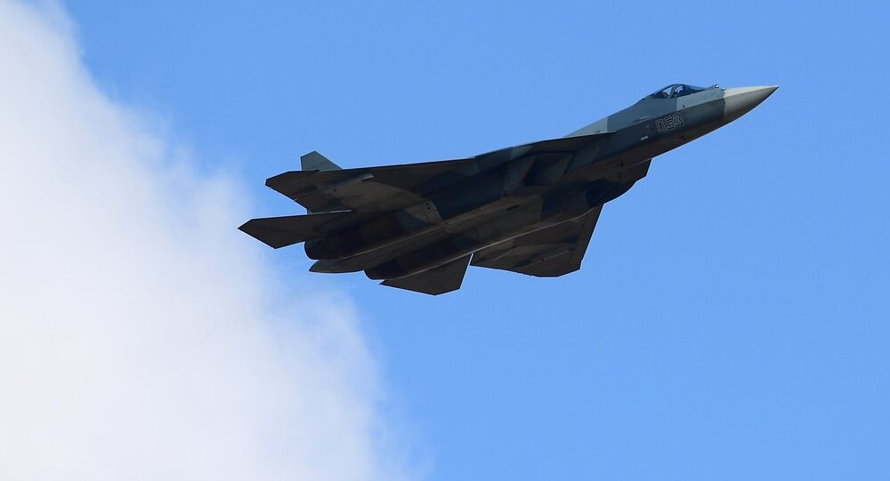 Su-57 multipurpose jet fighter