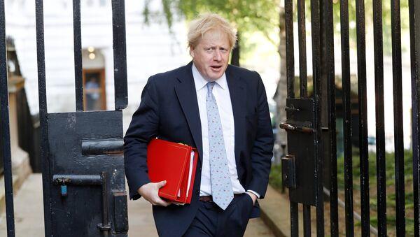 Britain's Foreign Secretary Boris Johnson arrives in Downing Street, in London, May 15, 2018 - Sputnik International