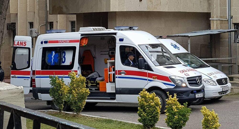 Ambulance in Baku, Azerbaijan (File)
