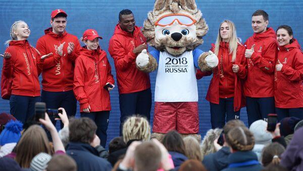 World Cup volunteers in Yekaterinburg - Sputnik International