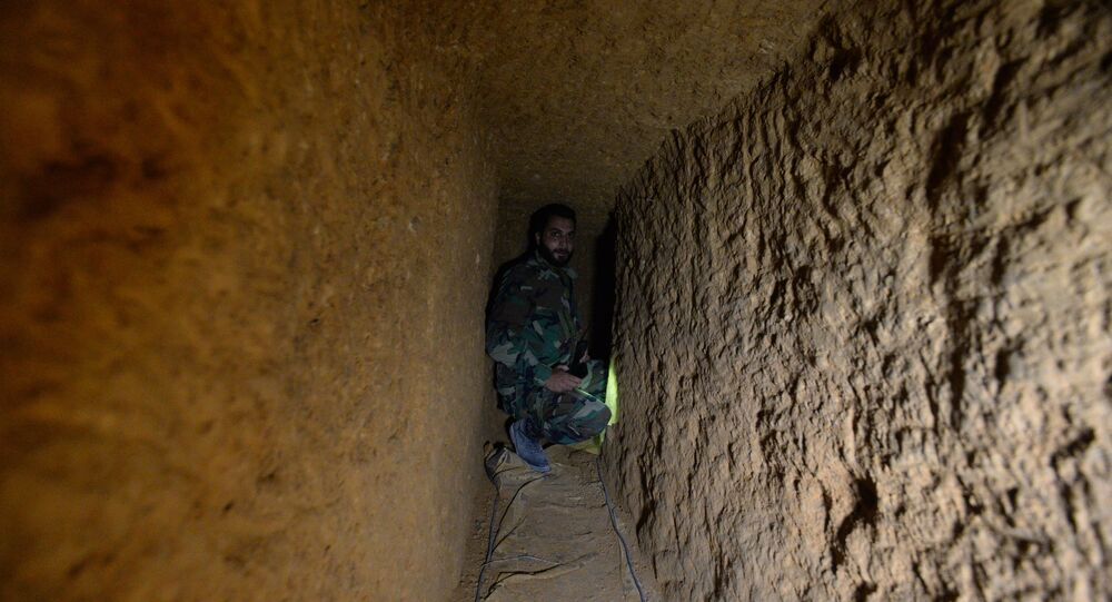 Secrets of Underground Life and War Inside the Syrian Tunnels
