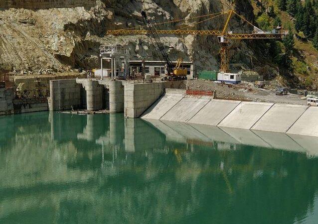 Kishenganga hydroelectric power plant