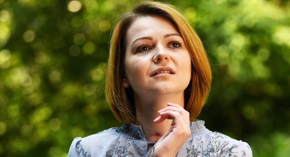 Yulia Skripal, who was poisoned in Salisbury along with her father, Russian spy Sergei Skripal, speaks to Reuters in London, Britain, May 23, 2018