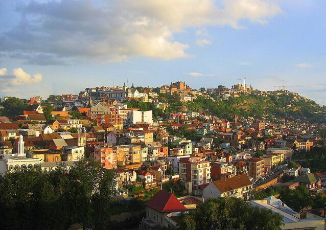 Antananarivo city heights