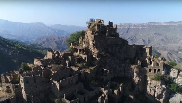 Ghost town! Drone reveals ancient abandoned village in Dagestan - Sputnik International