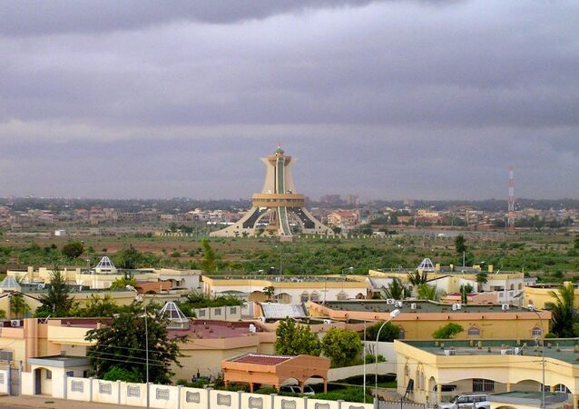 Place Memorial auz Heros Nationaux monument in Burkina Faso