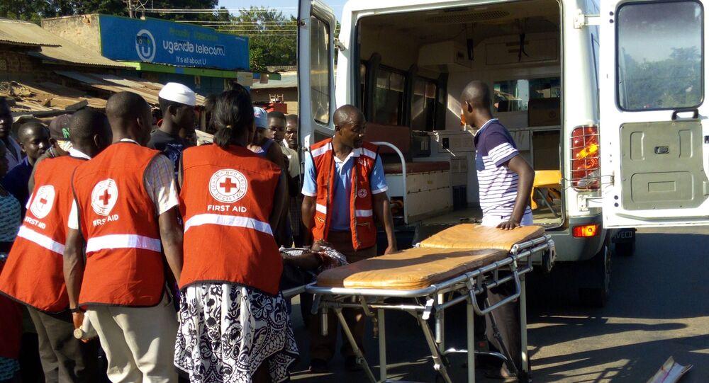 Uganda Red Cross Members (File)