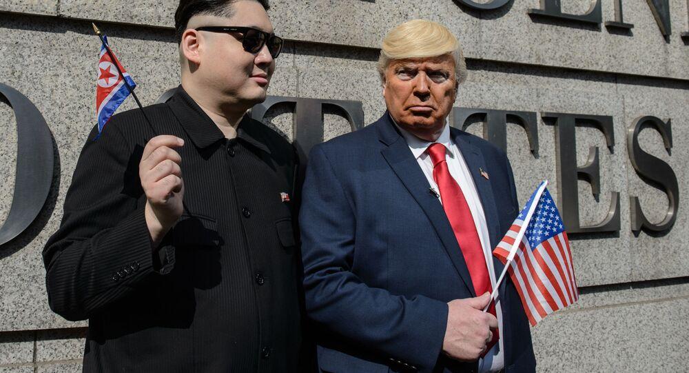 드널드 트럼프와 김정은이 우정을 나눈다면?