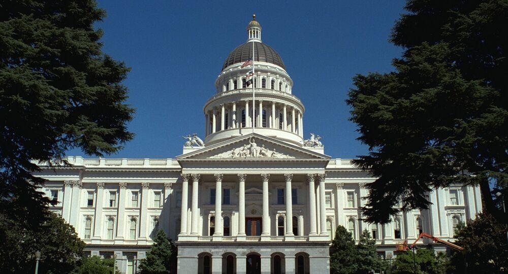 California State Capitol building.