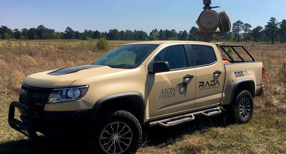 Truck-mounted drone killer