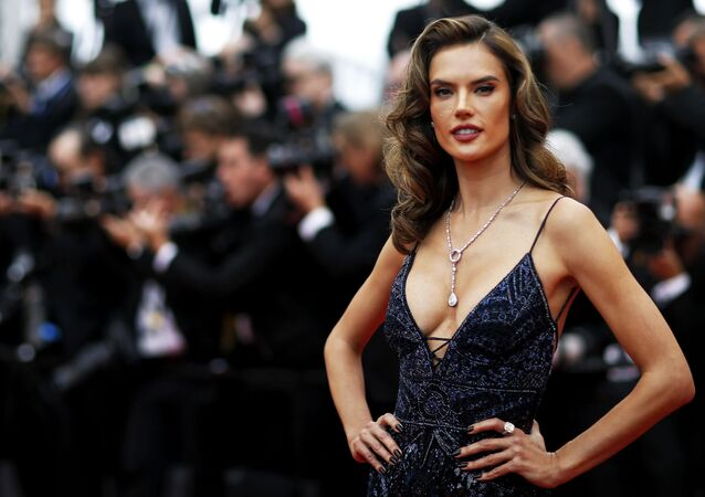 71st Cannes Film Festival - Screening of the film Solo: A Star Wars Story out of competition - Red Carpet Arrivals - Cannes, France May 15, 2018. Alessandra Ambrosio arrives