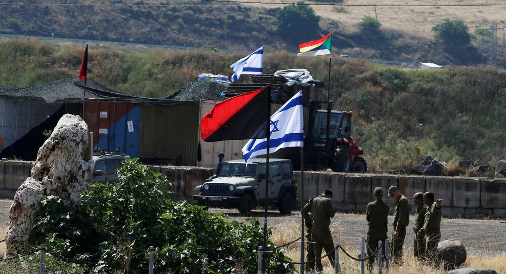 Israeli soldiers are seen in the Israeli-occupied Golan Heights, Israel May 10, 2018