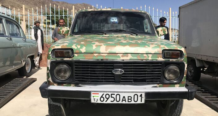 Russian Cars in Afghanistan