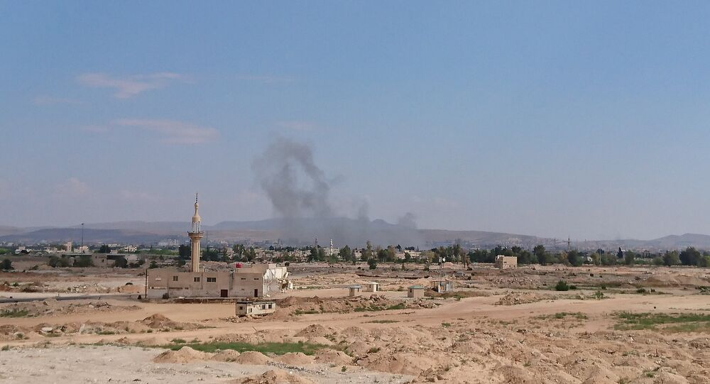 Blasts in the south of Damascus