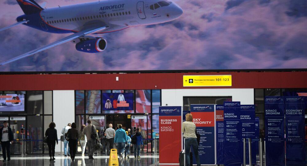 New passenger terminal B of the Sheremetyevo airport