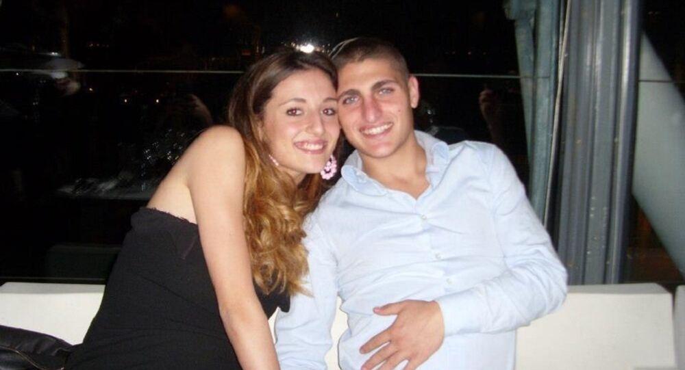 Laura Zazzara and Marco Verratti
