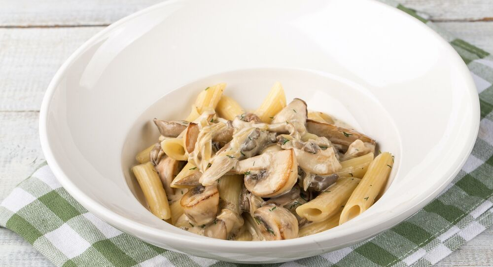 Sicilia's Penne with 3 kinds of mushrooms