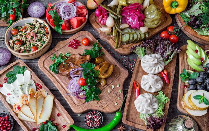 Nizhny Novgorod Hachapuria Café's dishes