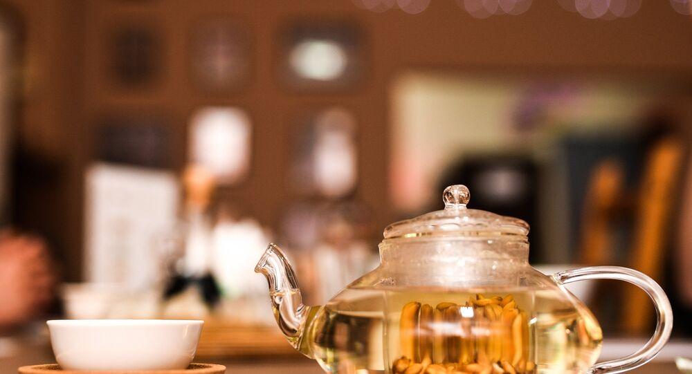 Kuksi House Bar's traditional Parikhcha  tea
