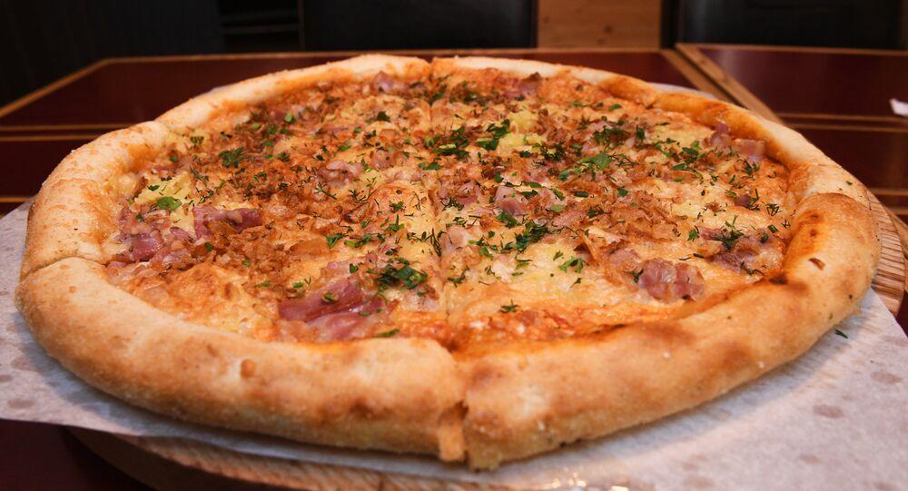Rice's pizza