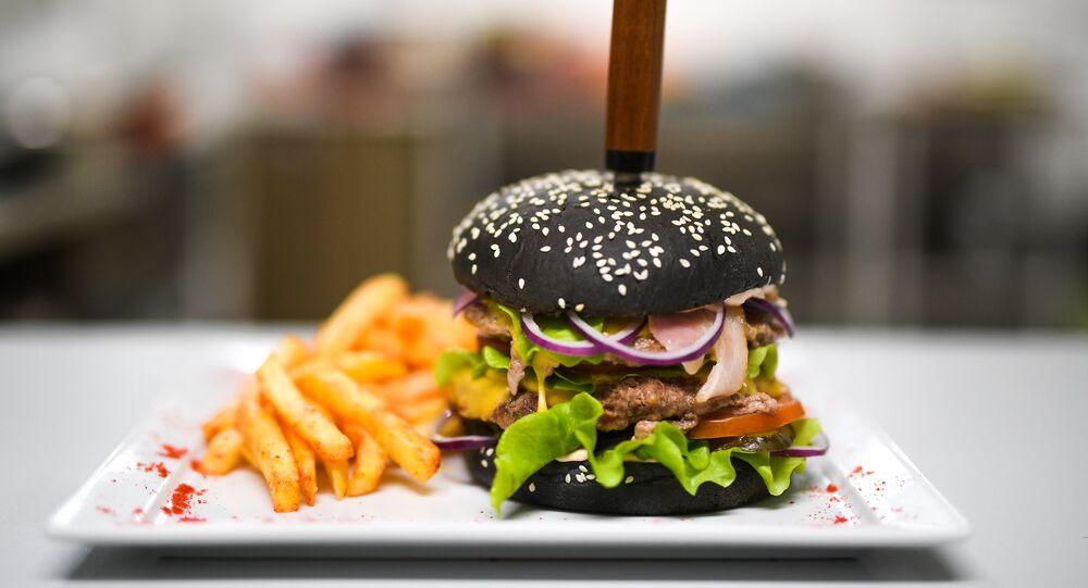 King-Burger of Volgograd's Fresh Diets Food Delivery Service