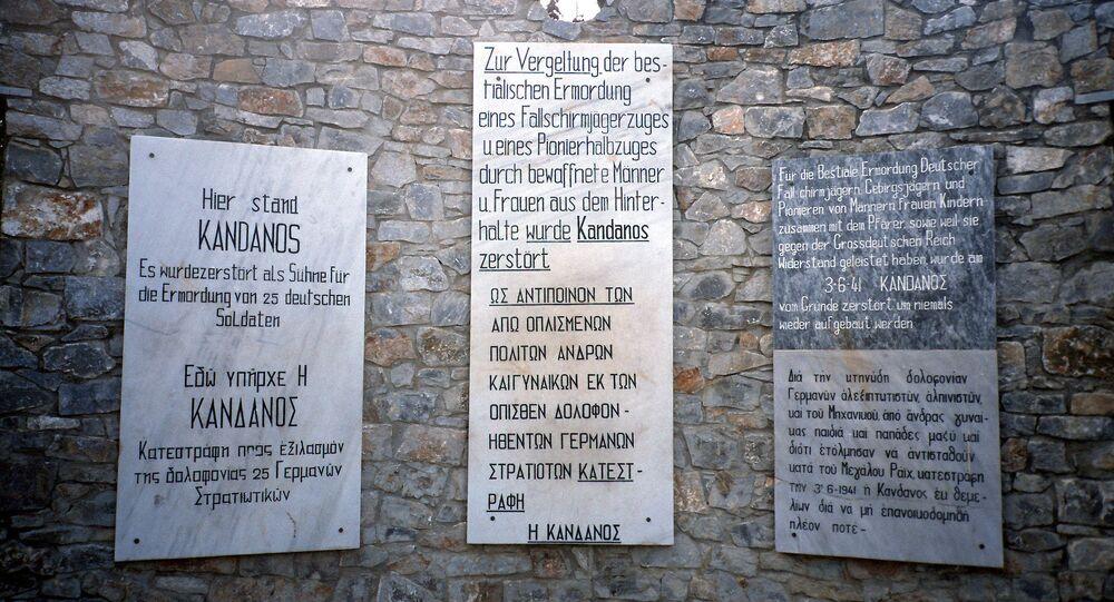 Kandanos War Memorial