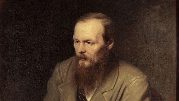 The portrait of Fyodor Dostoyevsky by Vasily Petrov. - Sputnik International