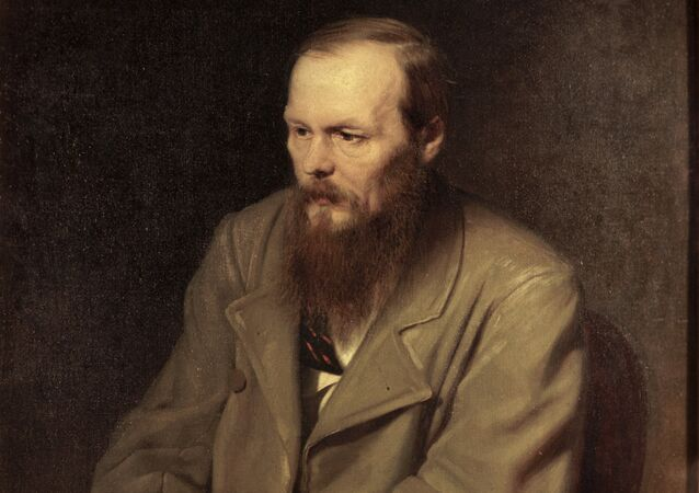 The portrait of Fyodor Dostoyevsky by Vasily Petrov.